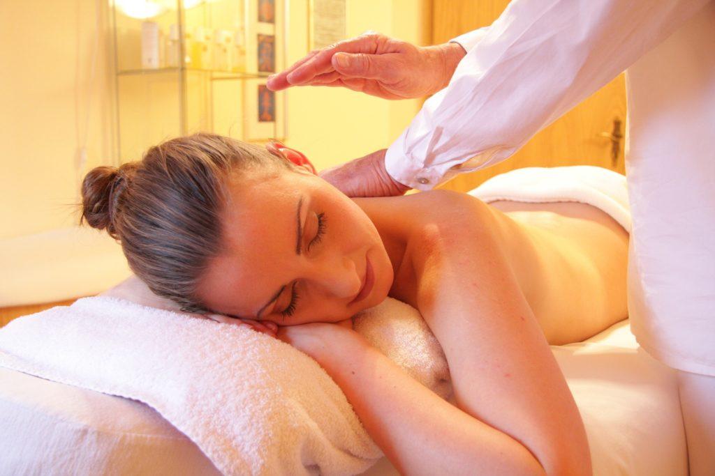 Bild på massage